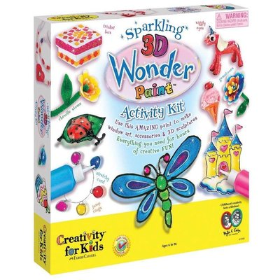 Creativity for Kids Creativity for Kids 3D Wonder Paint Activity