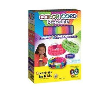 Creativity for Kids Color Cord Bracelets