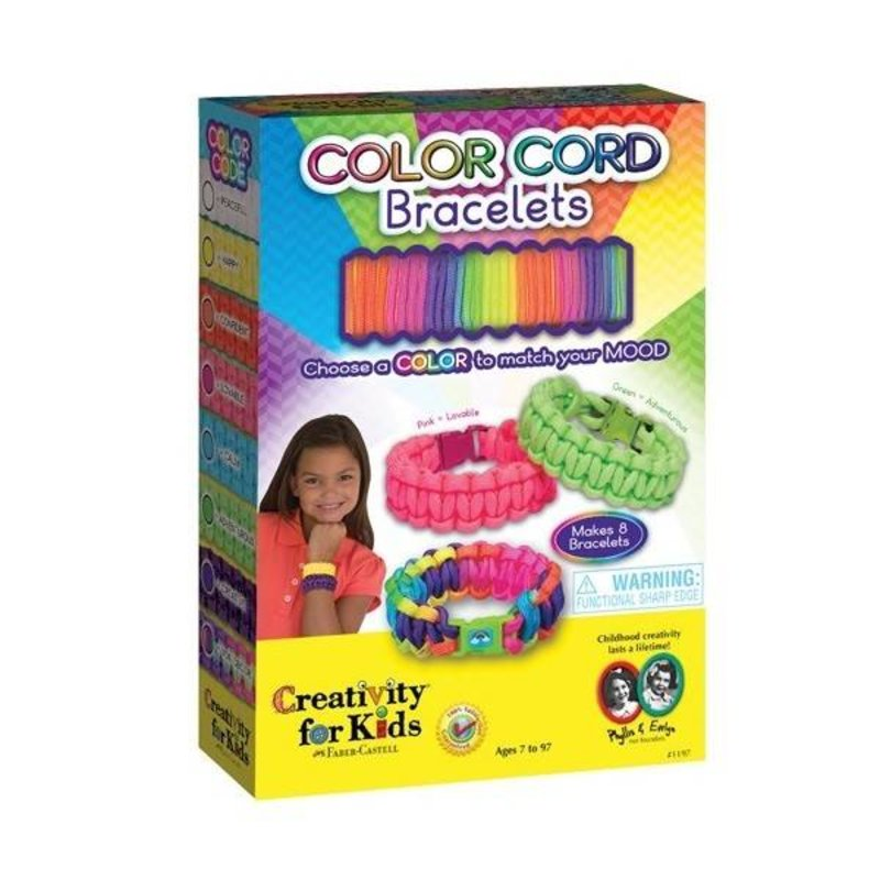 Creativity for Kids Creativity for Kids Color Cord Bracelets