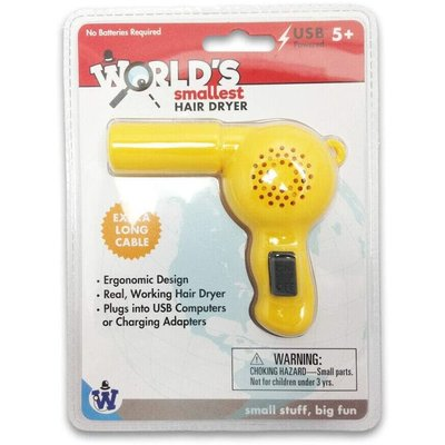 World's Smallest Hair Dryer