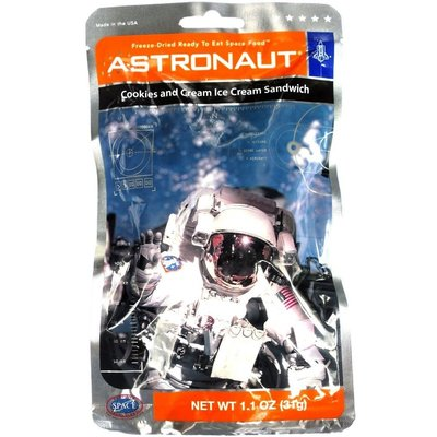 Astronaut Food Ice Cream Cookies & Cream