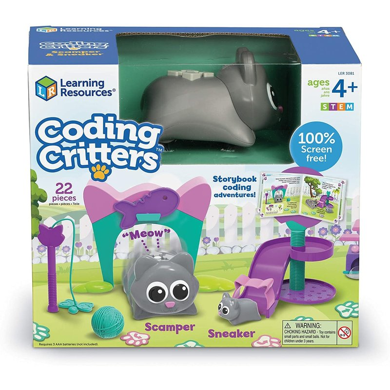 Learning Resources Learning Resources Coding Critters Scamper & Sneaker