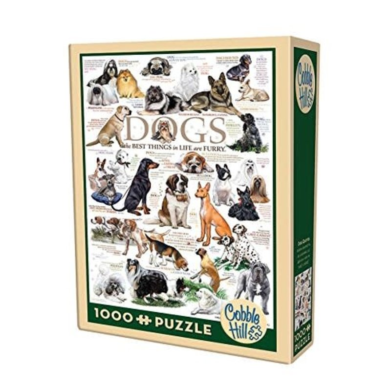 Cobble Hill Puzzles Cobble Hill Puzzle 1000pc Dog Quotes