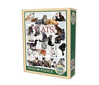 Cobble Hill Puzzle 1000pc Cat Quotes
