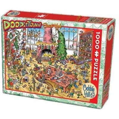 Cobble Hill Puzzles Cobble Hill Puzzle 1000pc Doodle Elves at Work