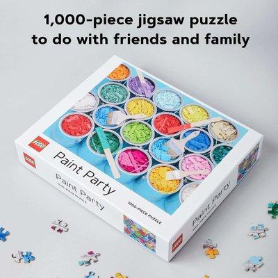 Lego Puzzle 1000PC Paint Party