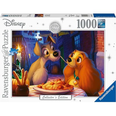 Ravensburger Ravensburger Puzzle 1000pc Disney Lady & The Tramp