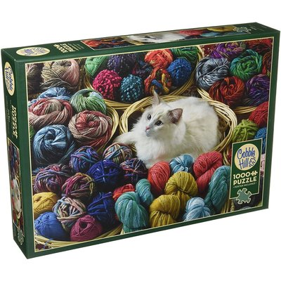Cobble Hill Puzzles Cobble Hill  Puzzle 1000pc Fur Ball