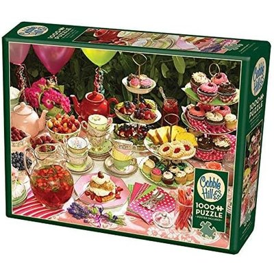 Cobble Hill Puzzles Cobble Hill Puzzle 1000pc Garden Party