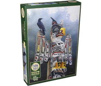 Cobble Hill  Puzzle 1000pc Totem Pole in the Mist