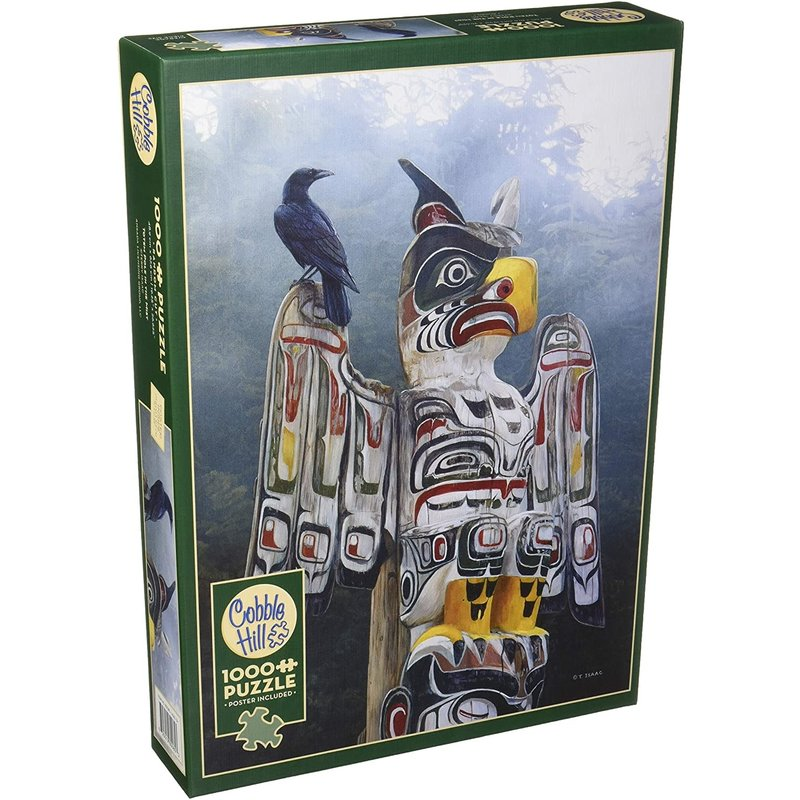 Cobble Hill Puzzles Cobble Hill  Puzzle 1000pc Totem Pole in the Mist
