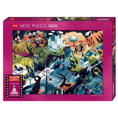 Heye Heye Puzzle 1000pc Tim  Burton Films