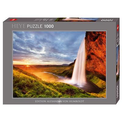 Heye Heye Puzzle 1000pc Seljalands Waterfall