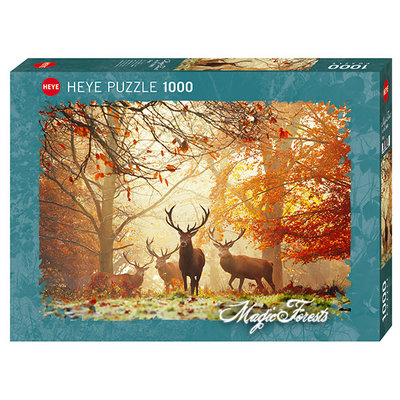 Heye Heye Puzzle 1000pc Magic Forest, Stags