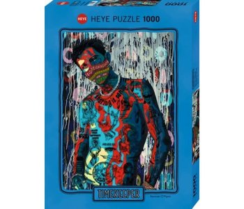 Heye Puzzle 1000pc Timekeeper, Sharing is Caring