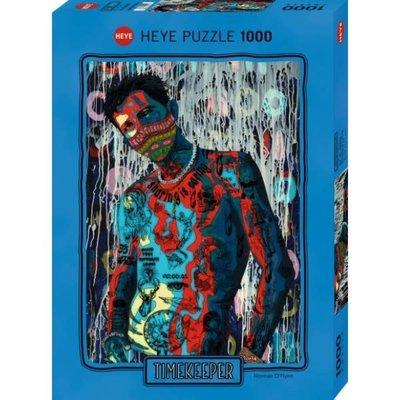Heye Heye Puzzle 1000pc Timekeeper, Sharing is Caring