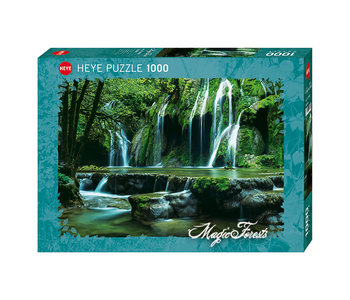 Heye Puzzle 1000pc Magic Forests, Cascades