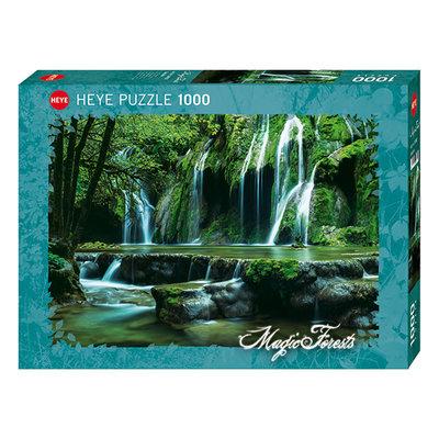 Heye Heye Puzzle 1000pc Magic Forests, Cascades