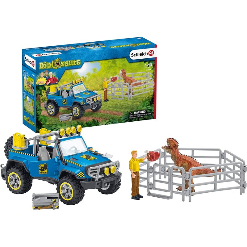 Schleich Dinosaur Off-Road Vehicle with Dino Outppost