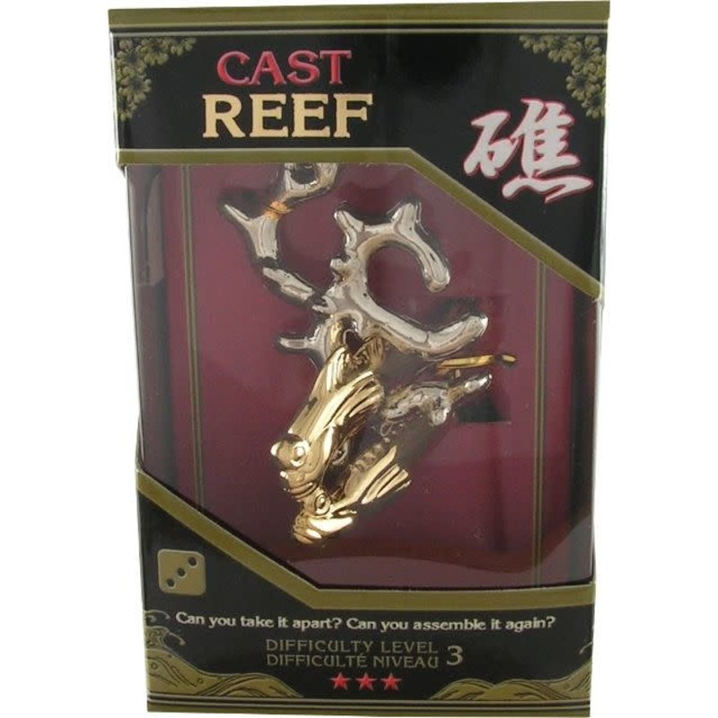 Cast Metal Puzzle Level 3 Reef