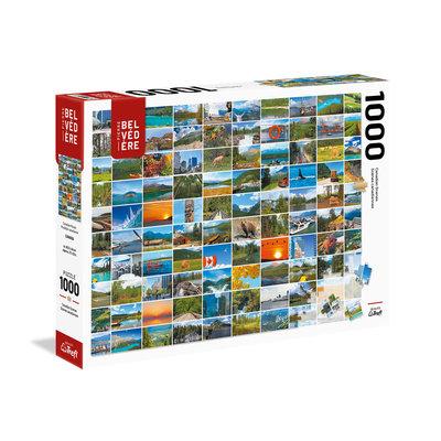 Trefl Puzzle 1000pc Canadian Mosaic