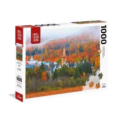 Trefl Puzzle 1000pc Mont Tremblant Fog