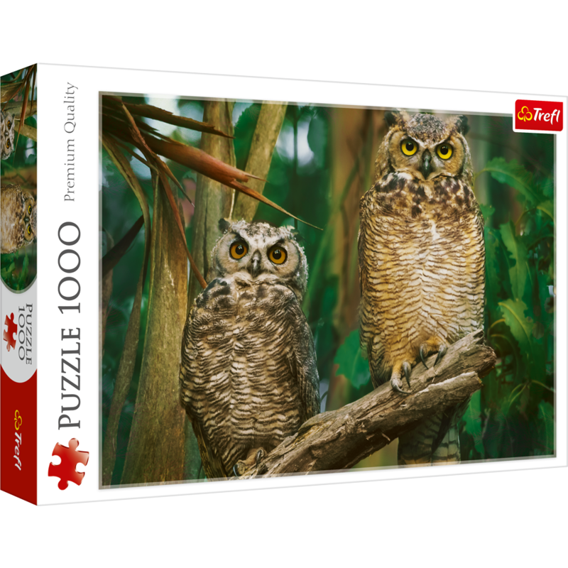 Trefl Trefl Puzzle 1000pc Night Owls