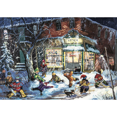 Trefl Puzzle 1000pc Paquin: At Arthur's