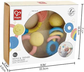 Hape Rattling Rattle & Teether Collection