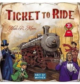 Days of Wonder Ticket to Ride Game