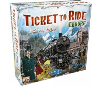 Ticket to Ride Game: Europe