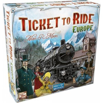 Days of Wonder Ticket to Ride Game: Europe