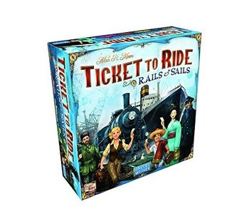 Ticket To Ride Game: Rails and Sails
