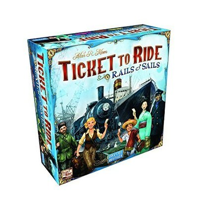 Days of Wonder Ticket To Ride Game: Rails and Sails