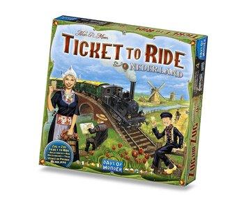 Ticket to Ride Game Expansion: Nederland