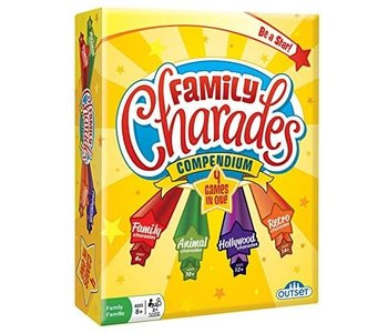 Outset Game Family Charades Compendium