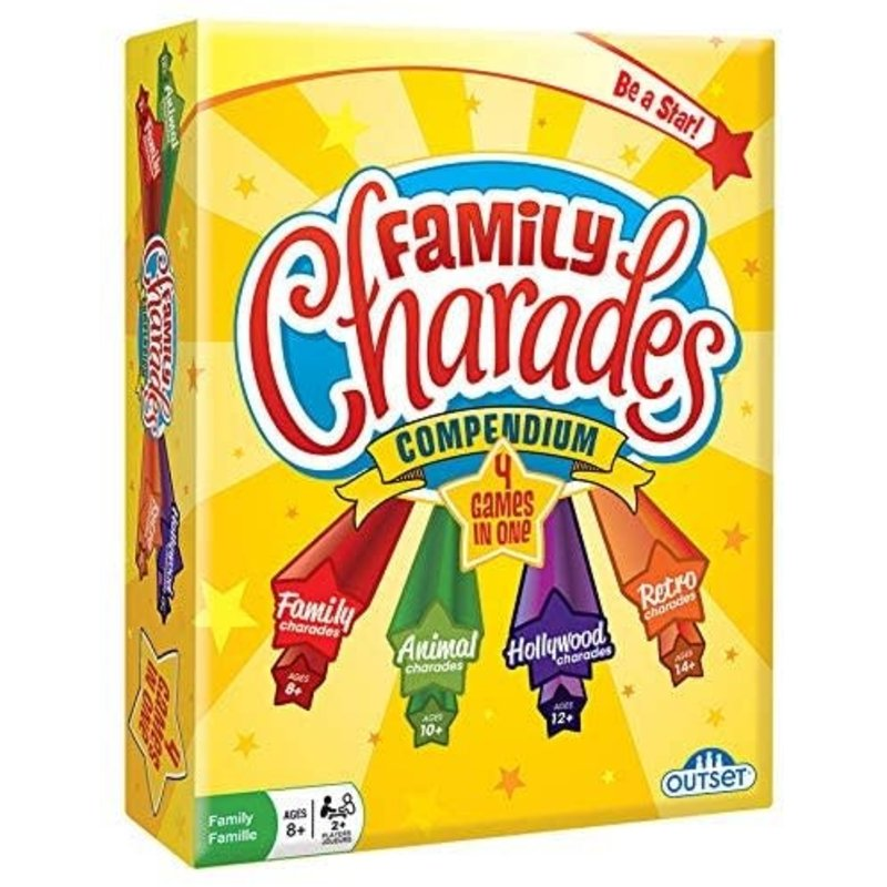 Outset Media Outset Game Family Charades Compendium