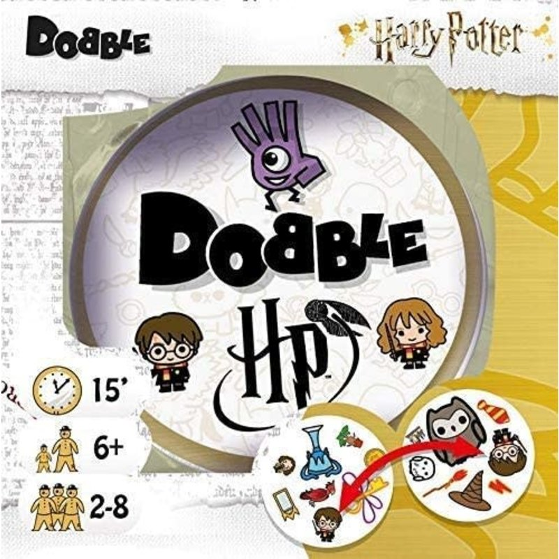 Asmodee Adobble Game Spot It Harry Potter