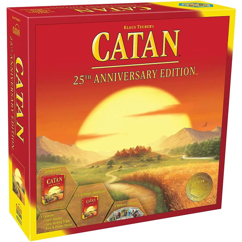 Catan Studios Catan Game 25th Anniversary Edition