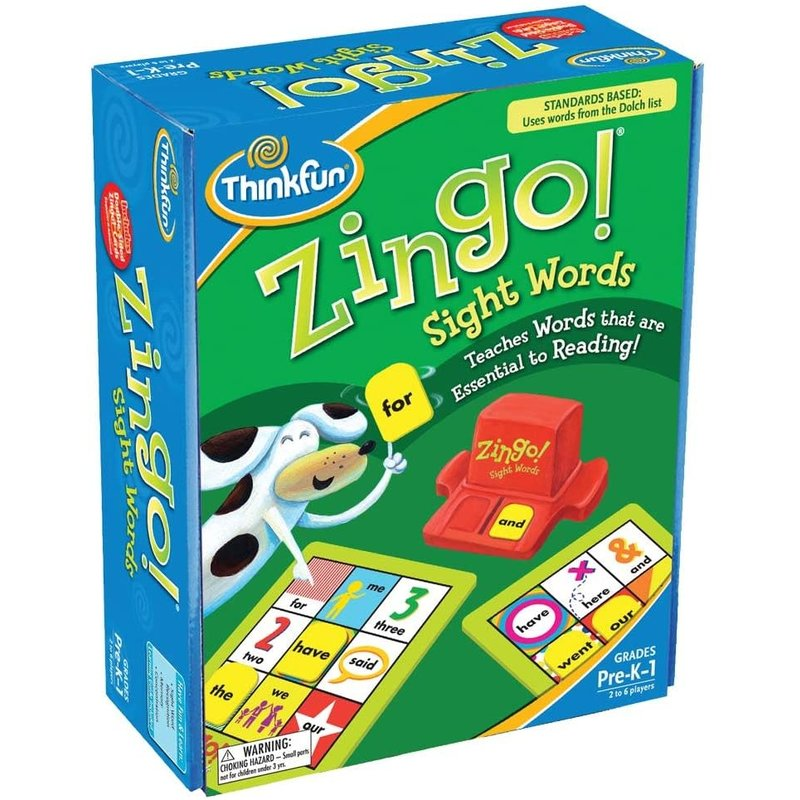 Thinkfun Thinkfun Game Zingo Sight Words