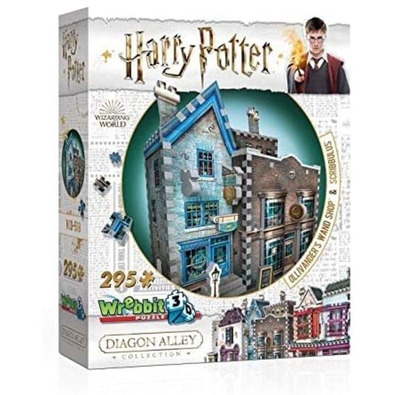 Wrebbit Wrebbit 3D Puzzle Harry Potter Ollivander's Wand Shop