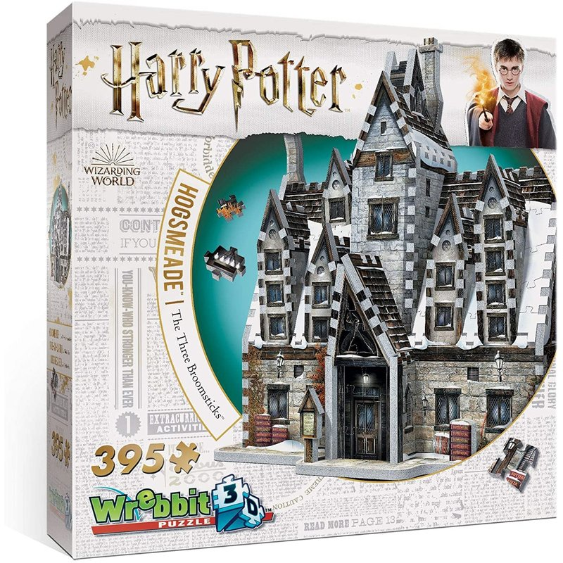 Wrebbit Wrebbit 3D Puzzle Harry Potter Hogsmead The Three Broomsticks