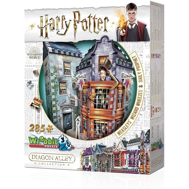 Wrebbit Wrebbit 3D Puzzle Harry Potter Weasley's Wizard Wheezes