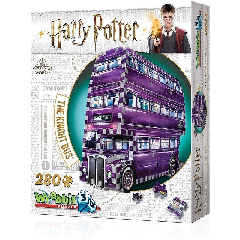 Wrebbit Wrebbit 3D Puzzle Harry Potter Knight Bus