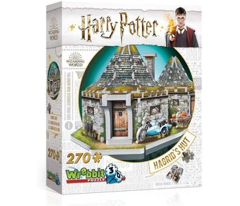 Wrebbit 3D Puzzle Harry Potter Hagrid's Hut