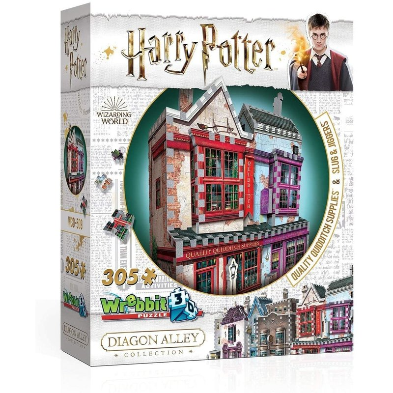 Wrebbit Wrebbit 3D Puzzle Harry Potter Quality Quidditch Supplies