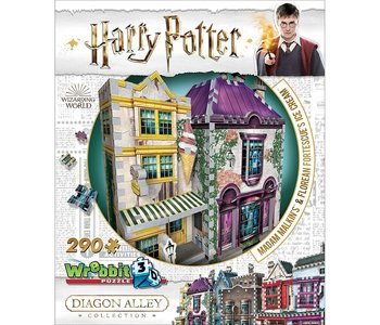 Wrebbit 3D Puzzle Harry Potter Madame Malkins Ice Cream