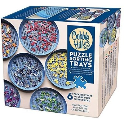 Cobble Hill Puzzles Cobble Hill Puzzle Sorting Trays