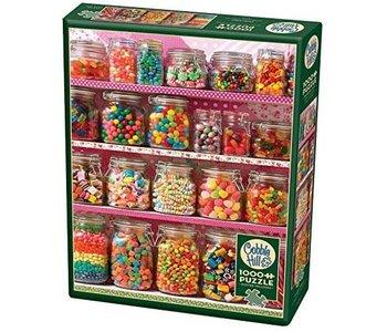 Cobble Hill Puzzle 1000pc  Candy Shelf