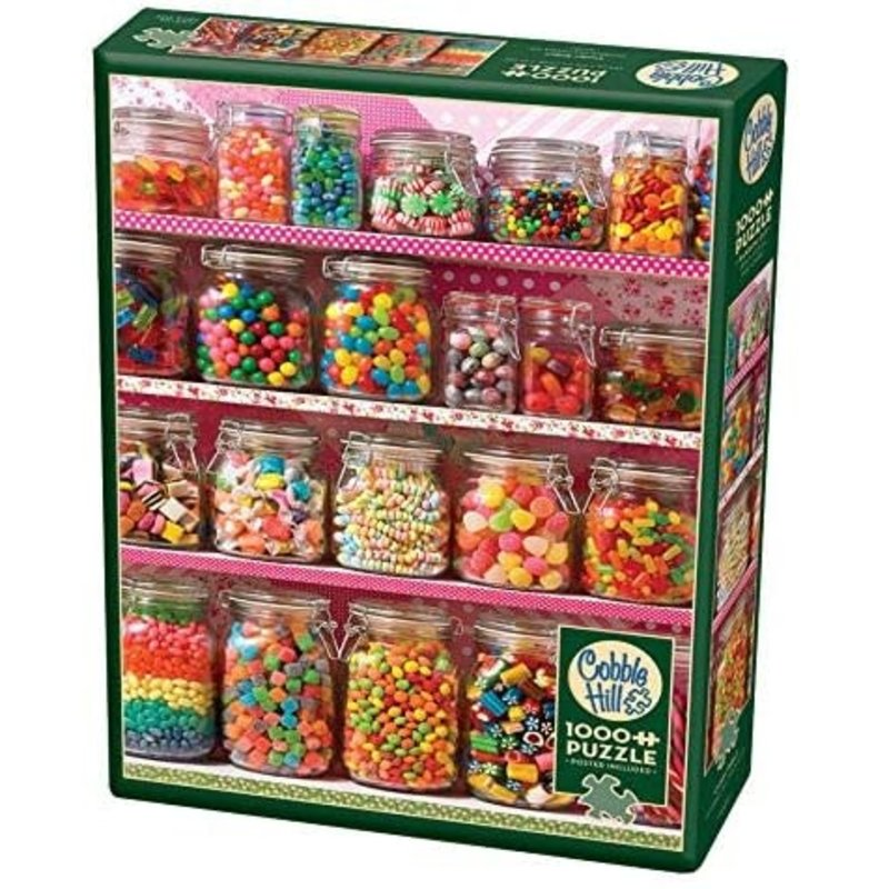 Cobble Hill Puzzles Cobble Hill Puzzle 1000pc  Candy Shelf